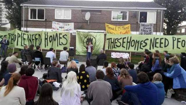 The Carpenters' Estate occupation