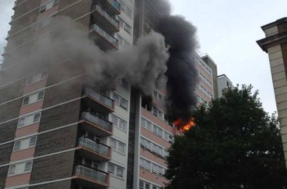 The Grenfell Tower fire Fire